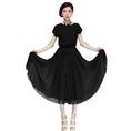 Zehui Women's Chiffon Vogue Boho Evening Long Casual Dress with Belt ( Zehui Casual Dress )