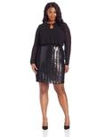 DKNYC Women's Plus-Size Long Sleeve Dress ( DKNYC Night Out dress )