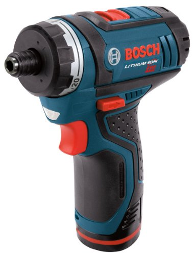 Bosch PS21-2A 12-Volt Max Lithium-Ion 2-Speed Pocket Driver Kit with 2 Batteries, Charger and Case ( Pistol Grip Drills ) รูปที่ 1