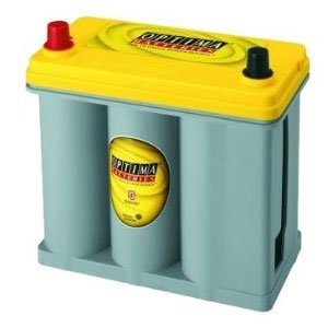 Optima (8171-767) DS46B24R Yellow Top Prius Battery ( Battery Optima ) รูปที่ 1