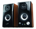 Genius Hi-Fi Wood Speaker for Computers (SP-HF500A) ( Genius Computer Speaker )