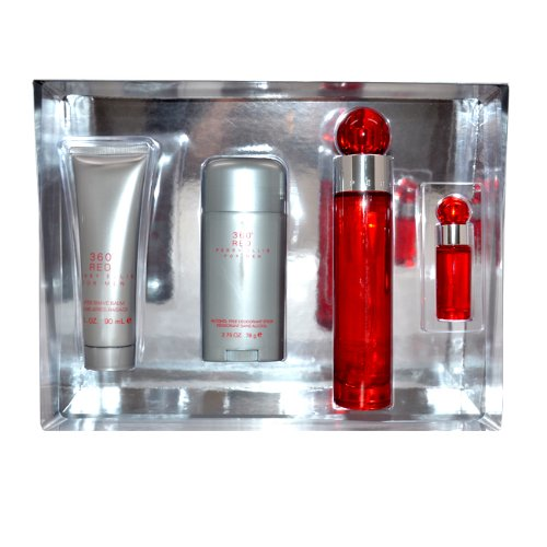 360 Red by Perry Ellis, 4 Count ( Men's Fragance Set) รูปที่ 1