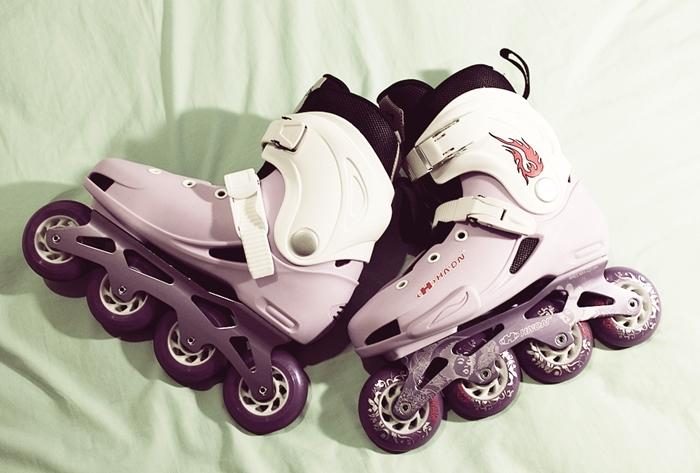 ขายถูก !!!!!!!! รองเท้าสเก็ต HADN รุ่น DX SLALOM size 39 สภาพ99% ราคา 3,500 บาท ส่งฟรี ! รูปที่ 1