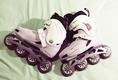 ขายถูก !!!!!!!! รองเท้าสเก็ต HADN รุ่น DX SLALOM size 39 สภาพ99% ราคา 3,500 บาท ส่งฟรี !