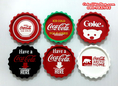 ที่รองแก้วฝาจีบ, ที่รองแก้วโค้กสังกะสี, ชุดแก้วโค้ก (ของสะสมโค้ก,ของพรีเมี่ยมโค้ก,Coke,Coca-Cola)