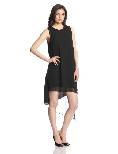 BCBGMAXAZRIA Women's Lainey Sleeveless Asymmetrical Hem Dress ( BCBGMAXAZRIA Casual Dress ) รูปที่ 1