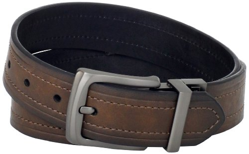 Levi's Men's Levis 40MM Reversible Belt With Gunmetal Buckle  รูปที่ 1