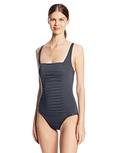Swimsuit Calvin Klein Women's Solid Pleated Soft Cup Maillot One Piece Swimsuit (Type one Piece)