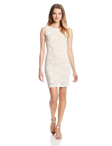 Jump Juniors Sleeveless Floral Stretch Lace Short Dress ( Jump Night Out dress ) รูปที่ 1