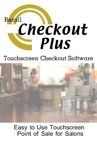 Checkout Plus Resturants and Bars Point of Sale Checkout Software; Inventory Management & Control, Touchscreen Point of Sale; Software Only Windows Only CDROM  [Pc CD-ROM] รูปที่ 1
