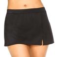 Swimsuit Caribbean Joe Solid Swim Skirt (Type Two Piece)