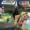 หนังสือนิยายมือสอง ลดราคา 50-70% ต่อเล่ม