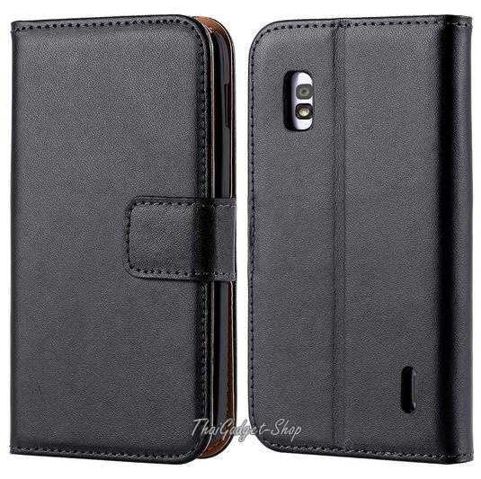 เคส Lg Nexus 4 Luxury Wallet With Card Slot Stand รูปที่ 1
