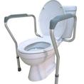 qSENIOR ราวพยุงตัวห้องน้ำ สำหรับโถสุขภัณฑ์นั่งราบ ชักโครก อุปกรณ์สำหรับผู้สูงอายุ ผู้ป่วย น้ำหนักมาก
