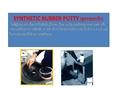 (จินT0914367514) อีพ็อกซี่มีความยืดหยุ่นและทนการเสียดสี ได้ดีเยี่ยม PROLONG SYNTHETIC RUBBER PUTTYชนิดครีมข้นใช้ซ่อมเนื้อยางที่เสียหายหรือใช้เป็นกาวประสานวัสดุชนิดติดแน่น มีความยืดหยุ่น ทนอุณหภูมิ ได้ 85 C