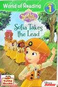 (Age 4 - 9) นิทานอ่านเล่น/ก่อนนอน (ฝึกอ่าน) Sofia Takes the Lead (I Can Read Level 1, Sofia the First)