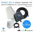 ชุดขยายสัญญาณ 3G/4G/สัญญาณโทรศัพท์/INTERNET  ใช้ได้ทุกเครือข่าย Duo band  รองรับย่านความถี่ 850/2100 MHz.