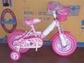 12 นิ้ว Hello Kitty ยางตัน สีชมพู จักรยานเด็กสุดน่ารักจาก LA