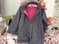 FIRA jacket wide breaker เสื้อแจคเกตกันหนาวกันลมสภาพดีมากมีฮูดถอดได้สวยสภาพดีไซส์เด็กโต9-10