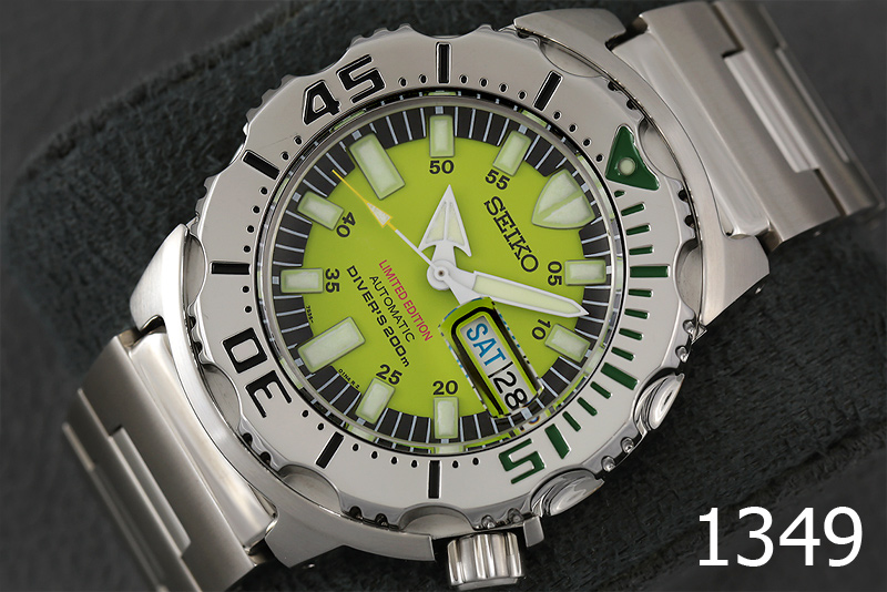 SEIKO GREEN MONSTER LIMITED EDITION รูปที่ 1