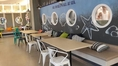 โต๊ะเก้าอี้สไตล์โมเดิร์น โต๊ะทรงแชมเปญ โต๊ะขาแฉก เก้าอี้พลาสติก โต๊ะเก้าอี้ร้านกาแฟ โครงขาโต๊ะ
