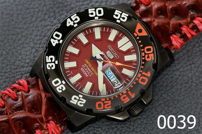 SEIKO MINI MONSTER หน้าม่วง LIMITED EDITION รูปที่ 1