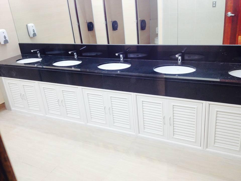 รูปภาพ บานซิงค์ PVC, ABS ประตูบานซิงค์ สำหรับตกแต่งห้องครัว ห้องน้ำ