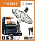 จานดาวเทียม IPM UP HD (IPM SET3)พร้อมติดตั้งจานC-BAND