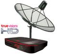 จานดาวเทียม True-visions HD C-Band พร้อมติดตั้งจาน C- BAND