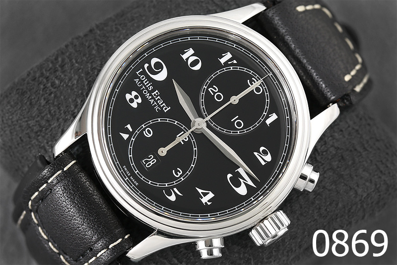LOUIS ERARD HERITAGE AUTOMATIC CHRONOGRAPH รูปที่ 1