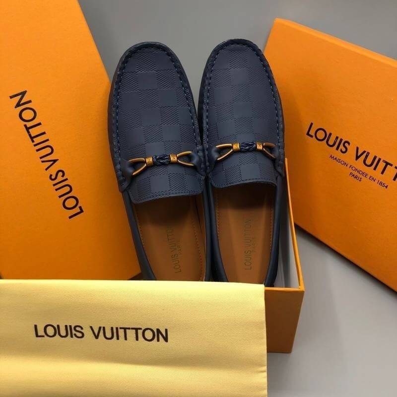 NEW LOUIS VUITTON RASPAIL MOCCASIN LOAFTER SHOES รูปที่ 1