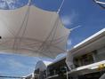 ออกแบบ ผลิต ติดตั้ง หลังคาผ้าใบแรงดึง Tension Fabric Structure