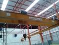 ติดตั้งเครนไฟฟ้าโรงงาน แบบเหนือศีรษะเครสนามคานเดี่ยวและคานคู่ของใหม่และมือสอง