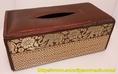 กล่องทิชชู่เสื่อกกขนาดใหญ่ลายช้างของที่ระลึกไทย ปลีก-ส่ง ราคาพิเศษ