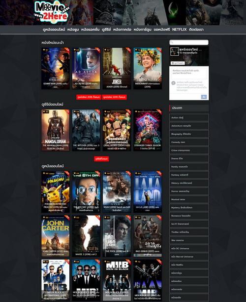 รูปภาพ ดูหนังออนไลน์ Movie2Here.com ดูง่ายคมชัด ระดับ HD พากย์ไทย ซับไทย