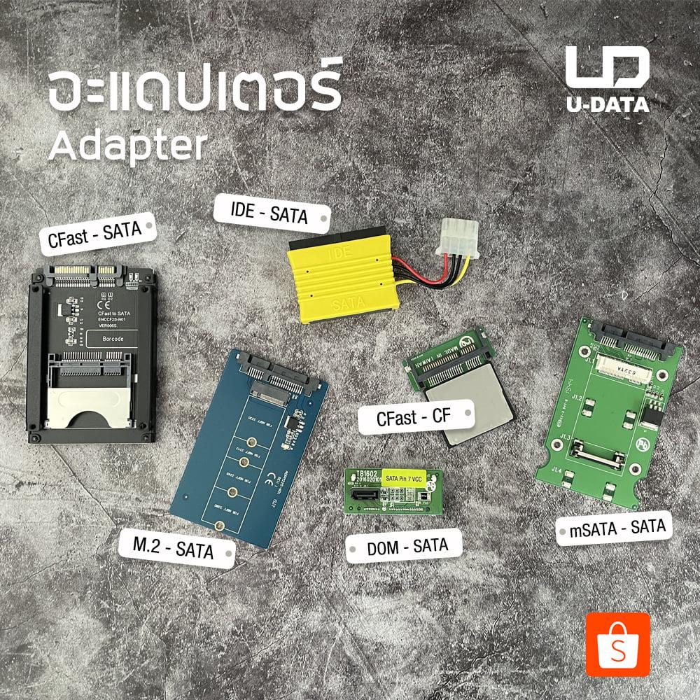 รูปภาพ อะแดปเตอร์ดี มีคุณภาพของ U-DATA ใช้ได้กับเครื่องcopy และเชื่อมต่อกับคอมพิวเตอร์