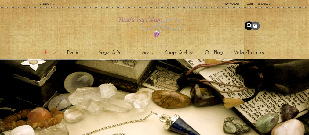 Handcrafted Protection Jewelry and Crystal Pendulum รูปที่ 1
