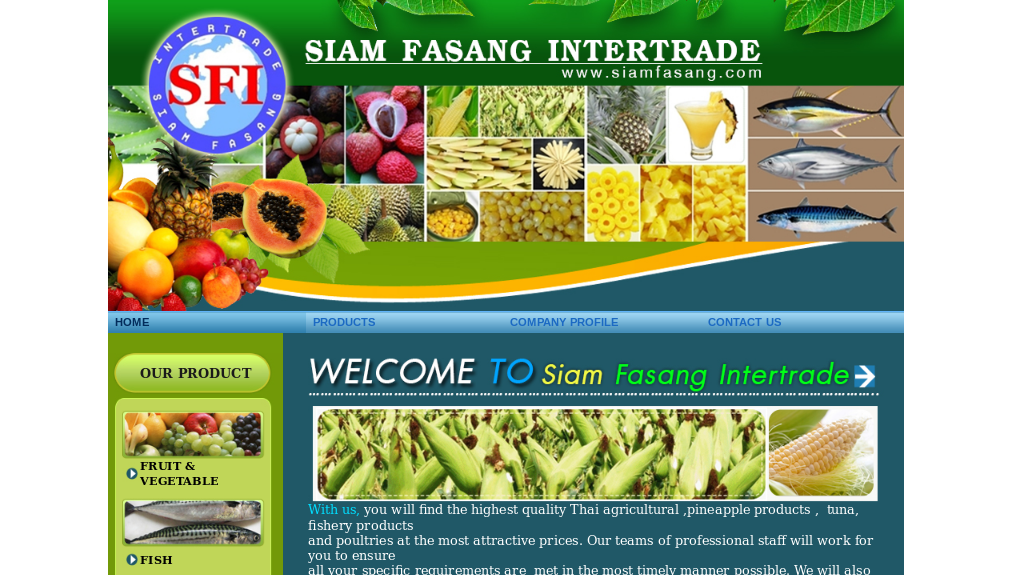 Siam Fasang Intertrade Sea Food you will find the highest quality Thai agricultural รูปที่ 1