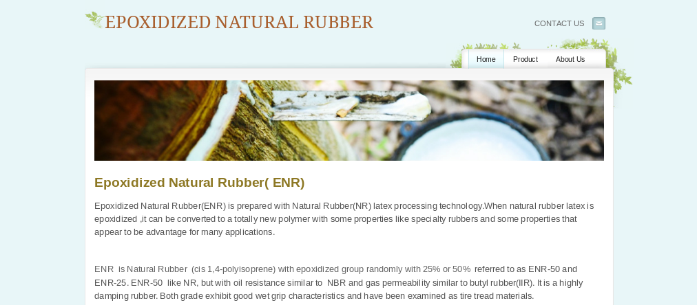 epoxidized natural rubber -ENR-25 and ENR-50 are used in anti-vibration mountings, surrounds for audio speakers, รูปที่ 1